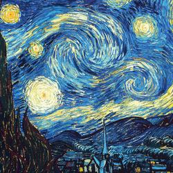 Пазл онлайн: Звездная ночь