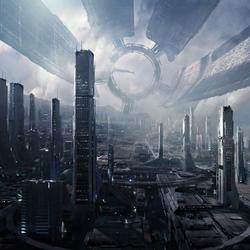 Пазл онлайн: Космическая станция ''Цитадель''