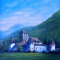 Пазл онлайн: Италия. Замок Мареч
