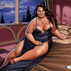 Пазл онлайн: Nadine