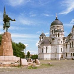 Пазл онлайн: Новочеркасский Вознесенский собор