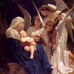Пазл онлайн: Песня ангелов