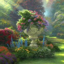 Пазл онлайн: Сад надежды