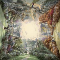 Пазл онлайн: Викторианский сад. Времена года