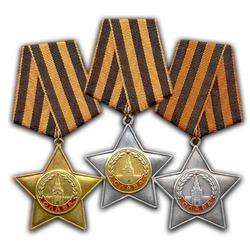 Пазл онлайн: Три степени Ордена Славы