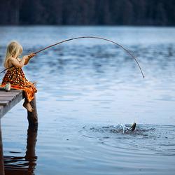 Пазл онлайн: Ловись рыбка...