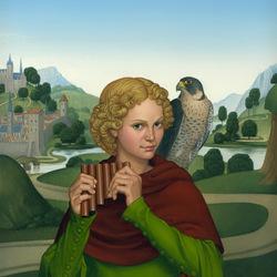 Пазл онлайн: Средневековый юноша
