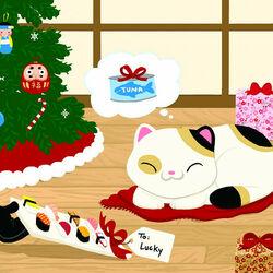 Пазл онлайн: Рождество в Японии