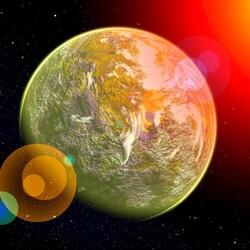 Пазл онлайн: Земля