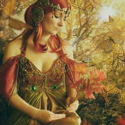 Пазл онлайн: Осенняя краса