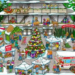 Пазл онлайн: Рождественская почта