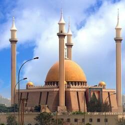 Пазл онлайн: Национальная мечеть Абуджа, Нигерия.