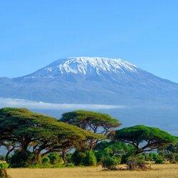Пазл онлайн: Гора Килиманджаро