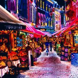 Пазл онлайн: По улицам Брюсселя