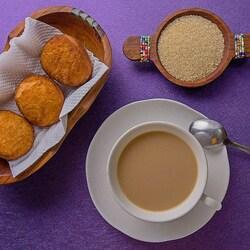 Пазл онлайн: Кофе с молоком