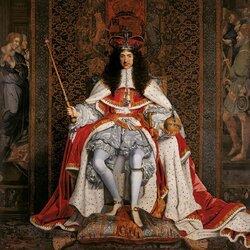 Пазл онлайн: Карл II Английский в коронационных одеждах