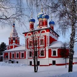 Пазл онлайн: Церковь  Димитрия