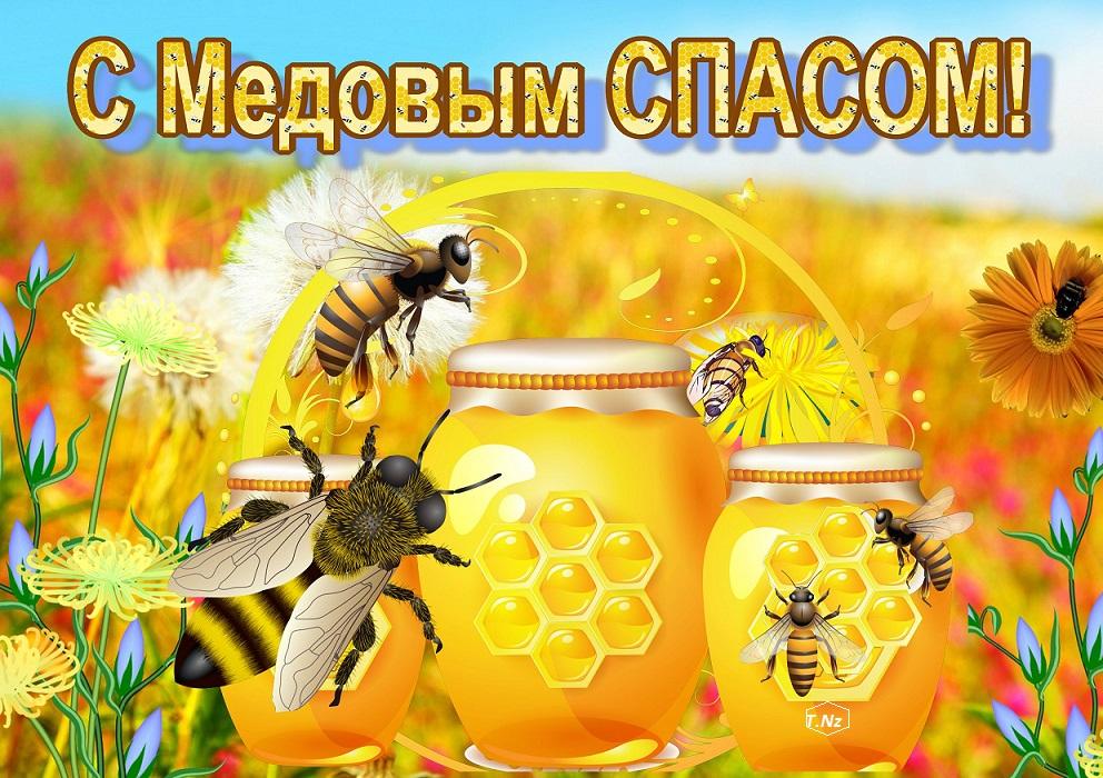 Поздр с медовым спасом