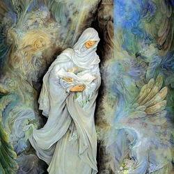 Пазл онлайн: Таинство материнства
