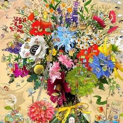 Пазл онлайн: Жизнь цветка