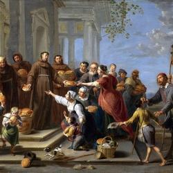 Пазл онлайн: Святой Антоний из Падуи
