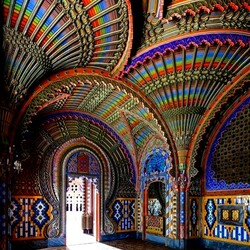 Пазл онлайн: Интерьер в замке Саммеццано