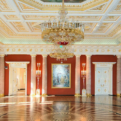 Пазл онлайн: Таврический дворец в Санкт-Петербурге