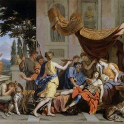 Пазл онлайн: Смерть Мелеагре