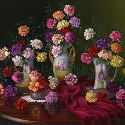 Пазл онлайн: Цветочная фантазия