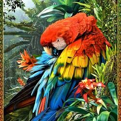 Пазл онлайн: Буйство красок