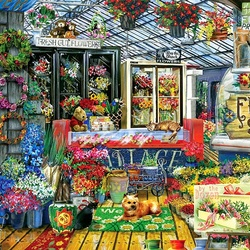 Пазл онлайн: Свежие цветы