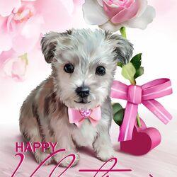 Пазл онлайн: Валентинов день