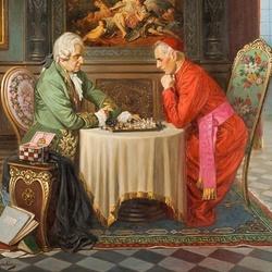 Пазл онлайн: Игры в шахматы
