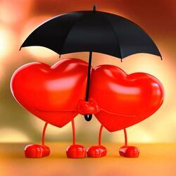 Пазл онлайн: С днем влюбленных