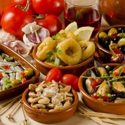 Пазл онлайн: Испанская кухня