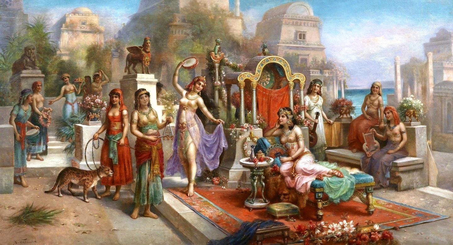 Вавилон фото девушек