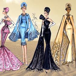 Пазл онлайн: Высокая мода