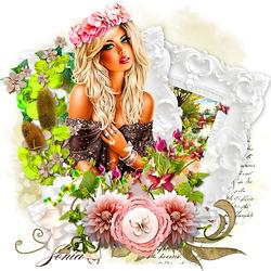 Пазл онлайн: Время цветов