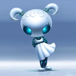 Пазл онлайн: Девочка-робот