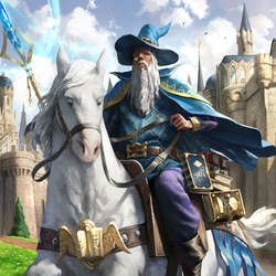 Пазл онлайн: Мастер-волшебник