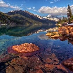 Пазл онлайн: Спокойствие воды