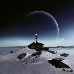 Пазл онлайн:  На краю чужой вселенной