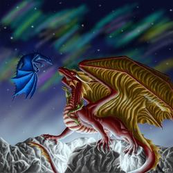 Пазл онлайн: Ночь драконов