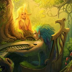 Пазл онлайн: Лесная мелодия
