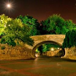 Пазл онлайн: Ночная тишина города