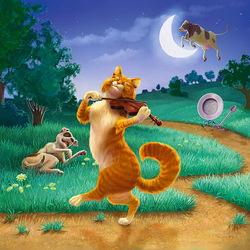 Пазл онлайн: Веселый котик