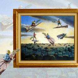 Пазл онлайн: Рыцари неба