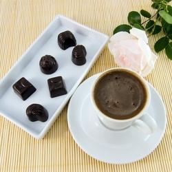 Пазл онлайн: Кофепитие