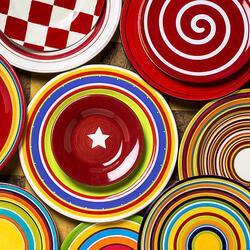 Пазл онлайн: Любимая тарелочка
