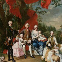 Пазл онлайн:  Семья графа Николауса